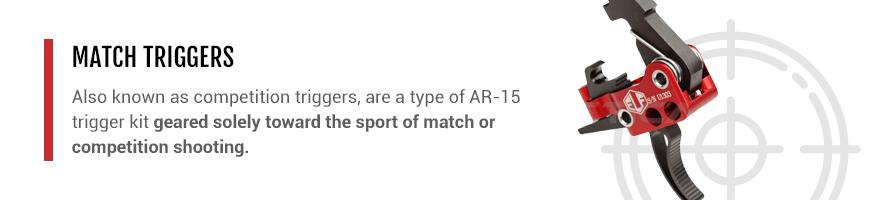 match grade AR-15 triggers