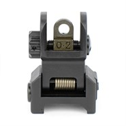 Low-Profile Flip-Up Iron Sight Set front view