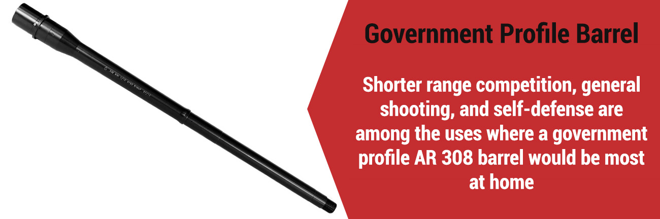 AR-10 Government Profile Barrel