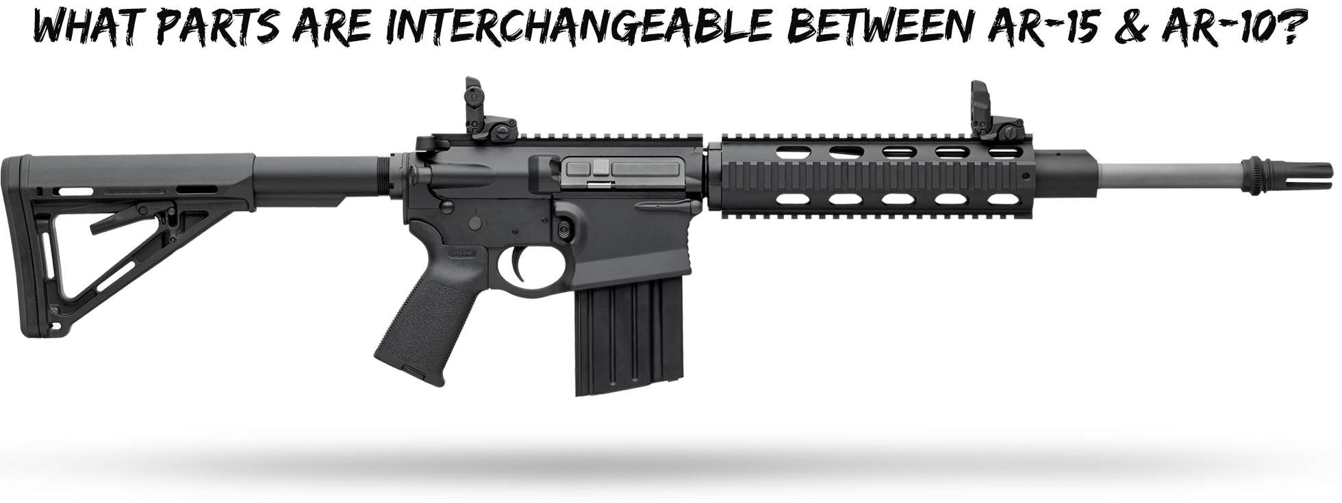 what parts are interchangeable between ar 15 ar 10 wing tactical