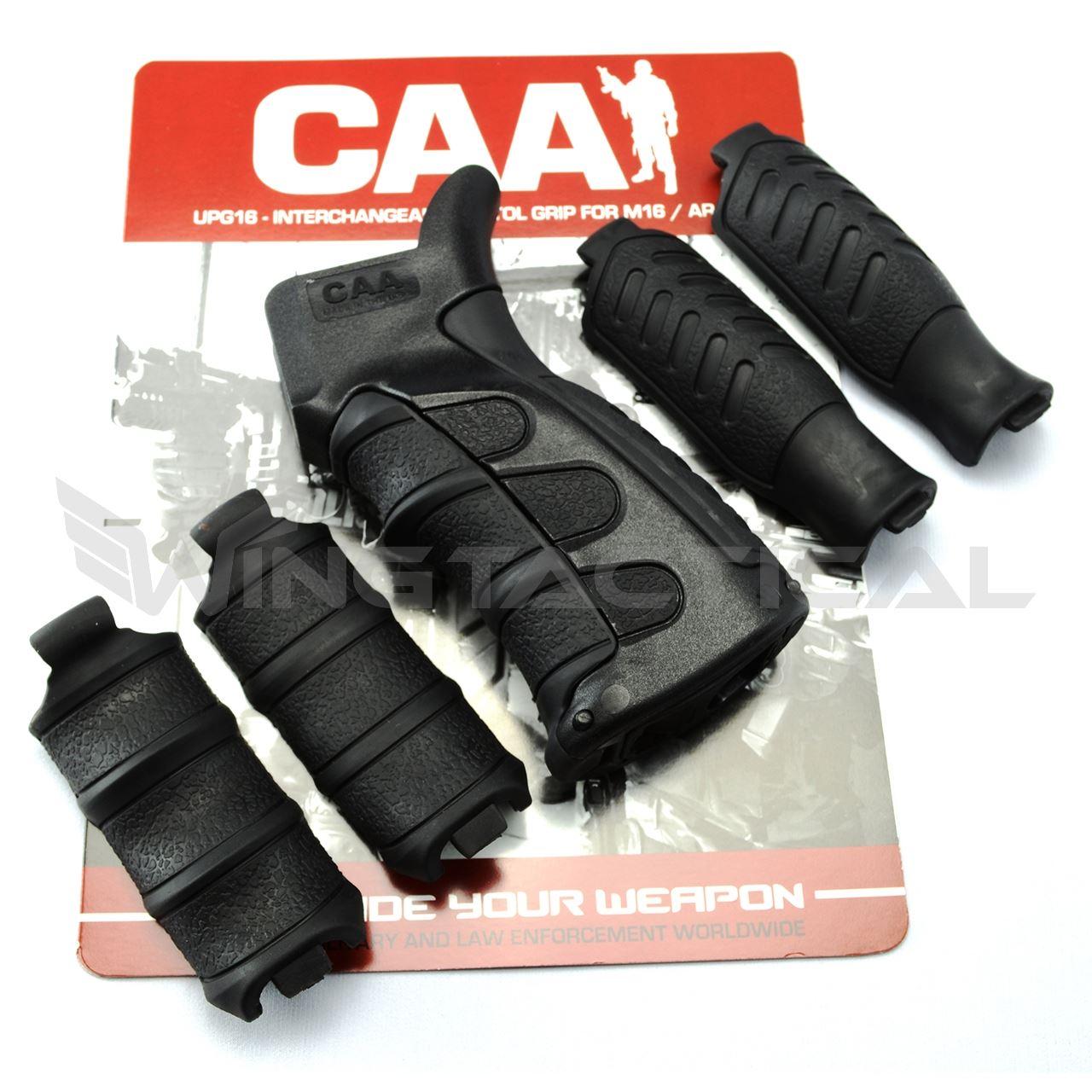 CAA 6 Piece Interchangeable AR-15 Pistol Grip