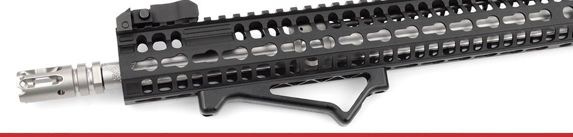 AR-15 Foregrips | Vertical, Angled, & Handstop | Best Deals!