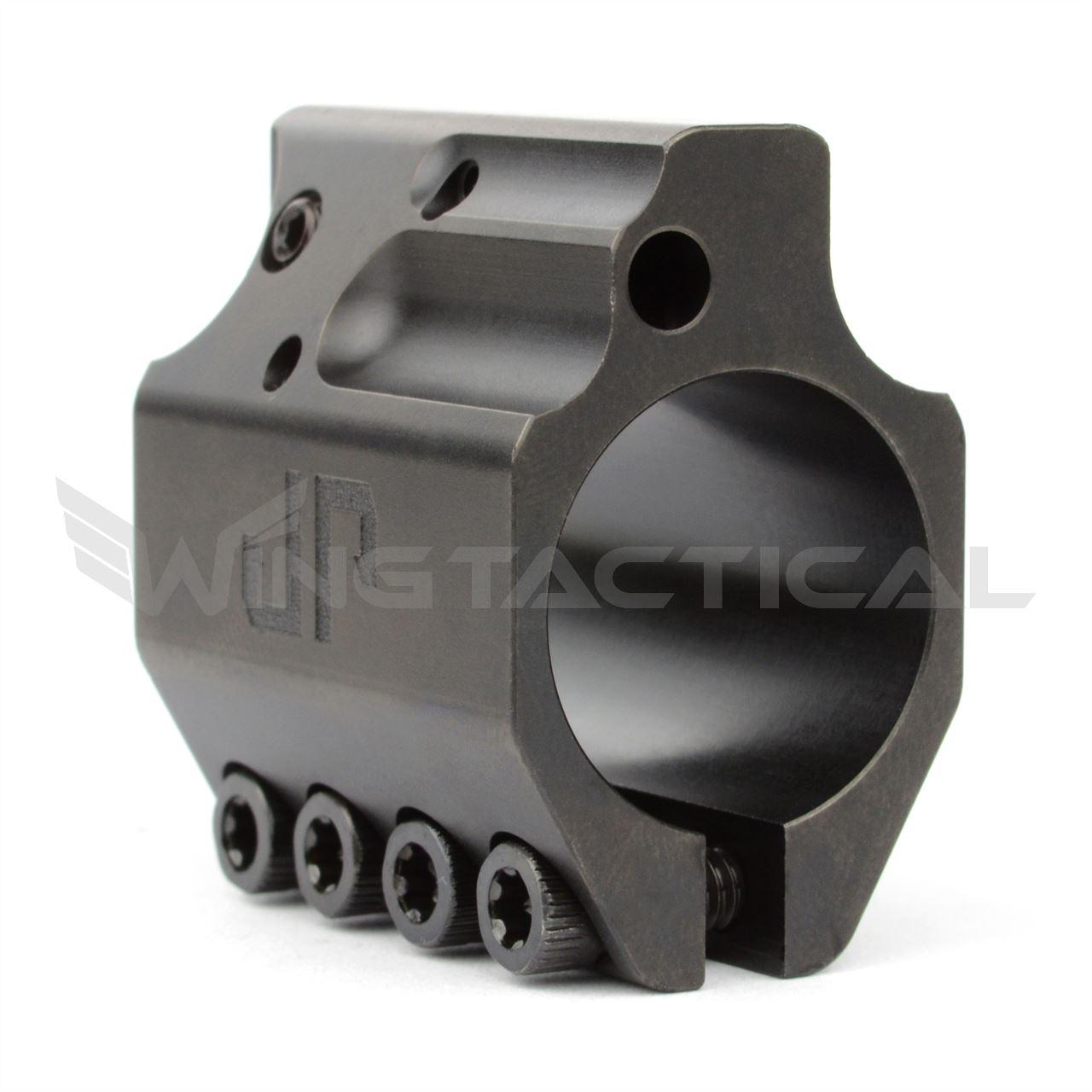 JP Enterprises .750 Adjustable Gas Block in QPQ Black Finish