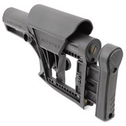LUTH-AR buttstock in black