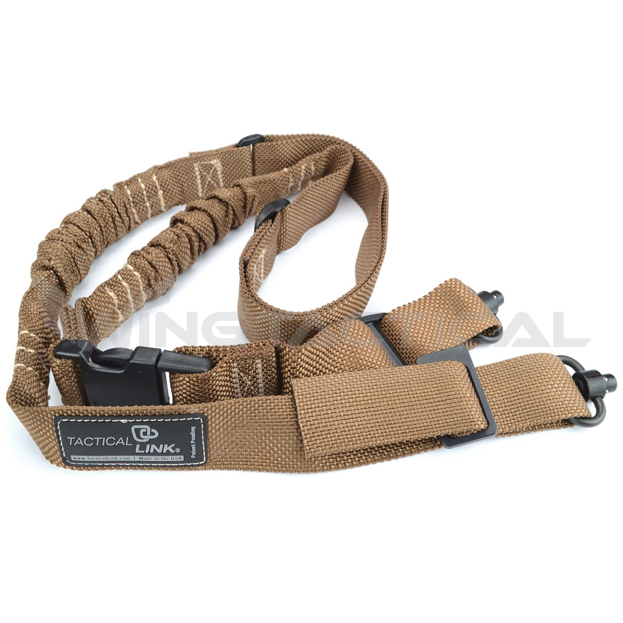 Tactical Link Convertible Quick Detach Bungee Sling