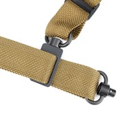 Quick Detach Bungee Sling in tan