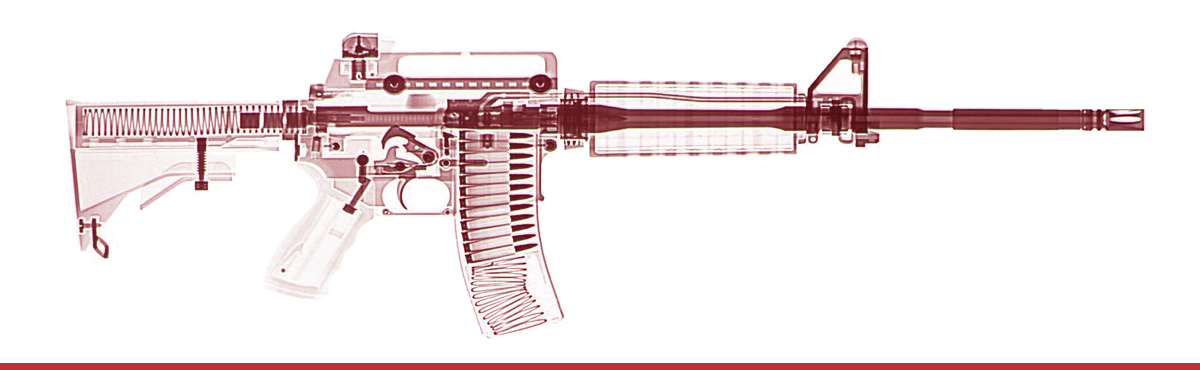 Diagram of an AR-15